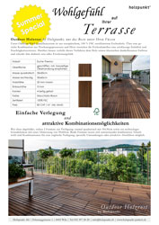 Outdoor Holzrost Summer Special 2018 send