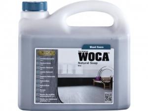 Savon pour parquet en bois coloré Woca