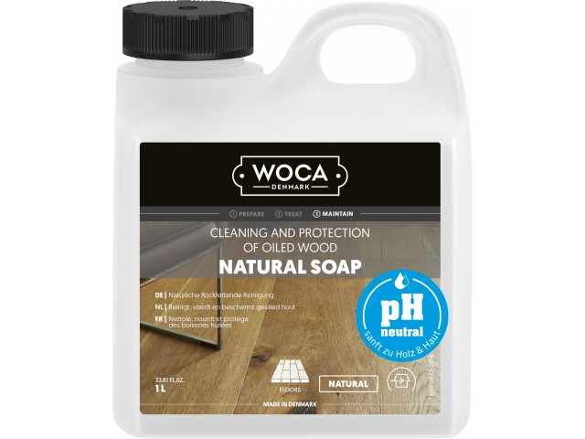 NEW! WOCA Natural Soap ph-neutral