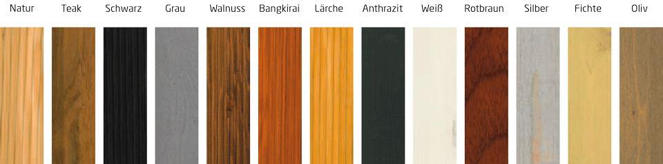 AnviTar Gartenmobel Holz Lasur Interessante Ideen