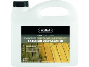 Exterior wood intensive cleaner